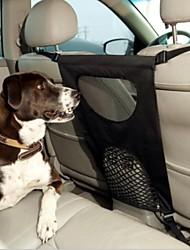 Dog Car Seat Cover Pet Carrier Foldable Black Terylene