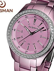EASMAN® Watch 2015 Women Purple Titanium Aluminum Quartz Watches Zircon Water Resistance Ladies Wristwatches Watches Cool Watches Unique Watches