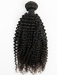 Super Deals 1pc/lot Brazilian Virgin Hair Kinky Curly Black Color Can Be Dyed Unprocessed Brazilian Afro Curl Hair