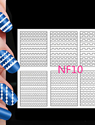 108PCS Different Sizes Professional Making Pattern Nail Art Tool #10
