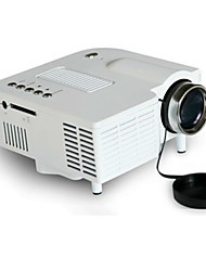 Mini Portable Home Cinema Proyector 1920*1080 LED digital Projector - UC28 with SD / USB / AV / VGA / HDMI Port