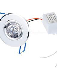 3W Luminária de Painel 1 LED de Alta Potência 100-450 lm RGB Controle Remoto AC 85-265 V 1 pç