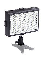6000mcd 160pcs 5500k dimmerabile colore regolabile video di luce fotografia lampada principale per Canon Nikon fotocamera pentax dslr