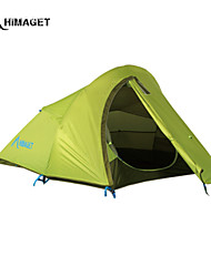 HIMAGET Brand Double Layer 2 Person Outdoor Products Waterproof Light Weight Camping Tent