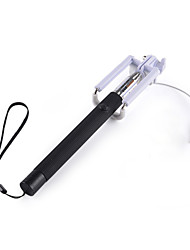 Foldable Wired Selfie Stick Handheld Monopod for Samsung  IPhone