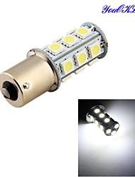 youoklight® 1pcs 3w 260lm 18 x 5050 SMD levou lâmpada de luz branca sinal carro / direcção - (DC12V)