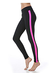 Yokaland 3-Dimensional Cutting Slim Fit Yoga and Fitness Angle Legging with Mesh Fabrics Decoration