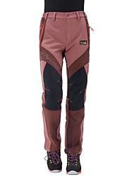 Mulheres Calças Acampar e Caminhar Caça Pesca Esportes Relaxantes Ciclismo/MotoImpermeável Respirável Térmico/Quente Design Anatômico