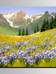 IARTS®Valley Lavender Flower Beautiful Landscape
