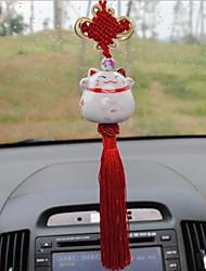 lebosh автомобиль подвеска керамические трюк кот сокровище доступ к мирному удачному желании зарабатывать деньги