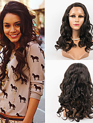 20inch Lace Front Hair Wigs 100% Human Hair Mongolian Virgin Hair Wavy Style Human Hair Wigs for Women