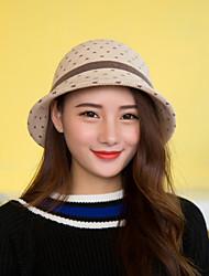Women Fashion Wool Dot  Hat LD00054