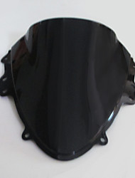 Motorcycle Racing Windshield Windscreen Black for Suzuki GSXR 600 750 2004 2005