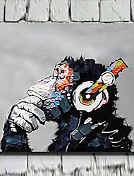Animal Impressão em tela Um Painel Pronto para pendurar , Horizontal