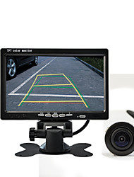 """DearRoad 7"""" LCD Color Display Screen Car Rear View Camera with Monitor +170° Vision Reversing Reverse Camera"""