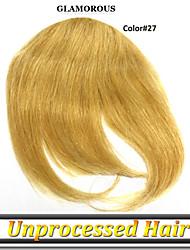 1 год гарантии 1шт / много combodian человеческие волосы могут быть продолжался более одного года девственные волосы челка