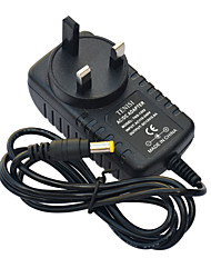 Jiawen UK Plug Power 2a ac charge chargeur adaptateur - noir (AC 110-240V)