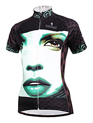 PALADIN® Cycling Jersey Women's Short Sleeve BikeBreathable / Quick Dry / Ultraviolet Resistant / Lightweight Materials / Back Pocket /