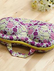 feuilles de palmier ventilateur avec Voyage portable protection sac de rangement en soutien-gorge / soutien-gorge pour protéger la boîte