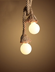 Pendant Lights Mini Style Retro Living Room / Bedroom /Office / Kids Room / Game Room / Garage Fabric