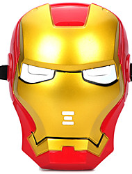 Cosplay Iron Man Mask with Blue Lite-Up Eyes