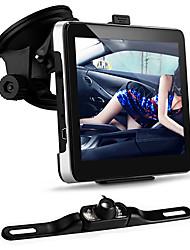 """carro de 7 """"GPS de navegação Bluetooth 4gb mapa + 7 LED IR noite visão câmera de visão traseira"""