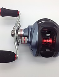 Trulinoya DW1000 Left 6.3:1 11 Ball Bearings Bait Casting Baitcast Reels Left-handed