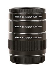 Kooka metalen af macrouitbreidingsbuizen kk-o68 voor Olympus OM 4/3 (12mm 20mm 36mm) slr camera lens close-up fotografie