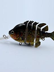 Hot 4 Inch 14.3 G Hard Body Floating Live Like Panfish Swim Bait  for Bass Fishing