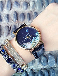 Mars topography,Moon,Peak patternLeather Watch,Women's Watch ,Men's Watch,Gift for Her, Gift Idea Cool Watches Unique Watches