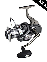 RS9000 All Metal Casting Fishing Reel 4.9:1 12+1 Ball Bearings Spinning Reels Sea Fishing Long For Big Fish