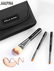 Stellaalpina Three Sets Of Brush Basic Makeup Brush MAC Makeup Style