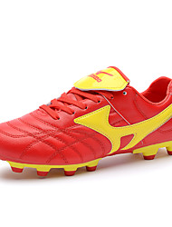 Men's Soccer Shoes Synthetic Green / Red / White