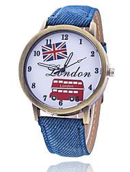 Homens Relógio de Moda Relógio de Pulso Bracele Relógio Único Criativo relógio Relógio Casual Chinês Quartzo Tecido Banda Vintage