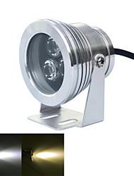 1 Stück jiawen 9 W 3 High Power LED 720~800 LM Warmes Weiß / Kühles Weiß Wasserdicht Unterwasserleuchten DC 12 V