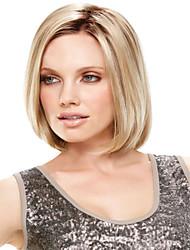 de mayor venta de alta calidad de Europa y los Estados Unidos bobo de oro peluca de pelo lacio