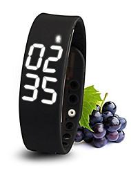 Activity Tracker USB Wristband Pedometer Smart Sports Bracelet LED Healthy Silicone Bracelet
