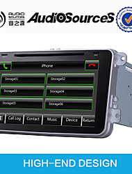 DVD Player Automotivo - 2 Din - 1024 x 600 - 8 Polegadas