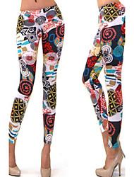DONNE - Pantaloni - Bodycon A vita medio-alta - magro Misto cotone