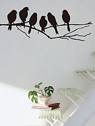 Beautiful PVC Bird Branches Wall Stickers