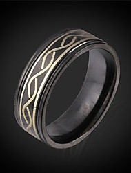 Vogue  Black Ring For Men Trendy Jewelry With Gift Box Free Shipping 2015 Fashion Jewelry Vintage