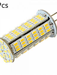 10W G4 Luces LED de Doble Pin MR11 126 SMD 3014 1020 lm Blanco Cálido / Blanco Fresco Decorativa DC 12 / AC 12 / AC 24 / DC 24 V 5 piezas