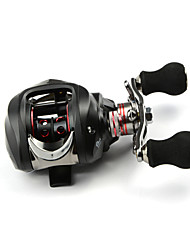 DMK SC120RC-X 12 Bearing Bait Casting Fishing Reel Gear Ratio 6.3:1 Max Drag 5kg Right Handle Centrifugal Brake