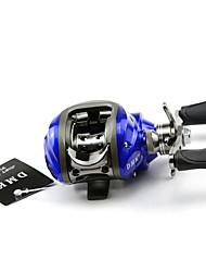 DMK DM120RA-C 11 Bearing Bait Casting Fishing Reel Gear Ratio 6.3:1 Max Drag 5kg Right Handle Magnetic Brake