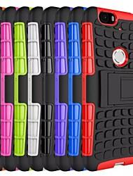 Pour Coque Huawei Nexus 6P Antichoc Avec Support Coque Coque Arrière Coque Armure Dur Polycarbonate pour Huawei