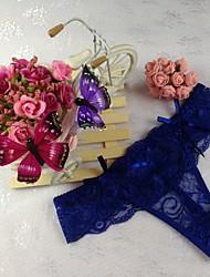 Women's Sexy Lace Panties G-strings & Thongs Underwear T-Back Women's Lingerie