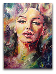 Sexy Lips Lady Julia People Oil Painting Stretched  Free Shiping IARTS Brand HIgh Quality