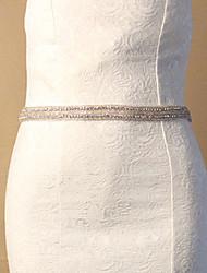 Hand Made Tulle Wedding / Party/ Evening Sash - Rhinestone Women's Sashes