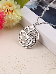 Movie Acc Game of Thrones Targaryen Pendant Necklace