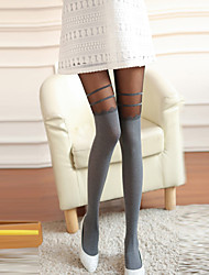 Women's Sexy Stripe Tight Pantyhose